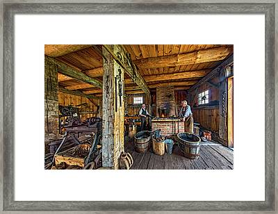 The Way We Were - The Blacksmith 2 Framed Print