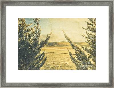 The Wayback Meadow Framed Print