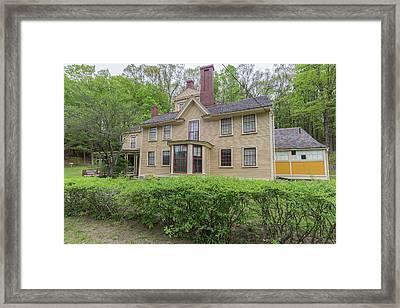 The Wayside Concord Massachusetts Framed Print