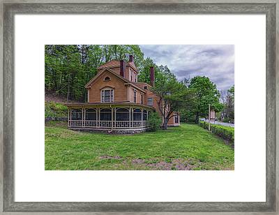 The Wayside Home Of Nathaniel Hawthorne Framed Print