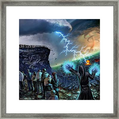 The Weak Shall Bring Us Down Framed Print by Tony Koehl