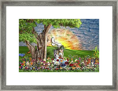 The Weary Warrior  Framed Print by Dolores Develde