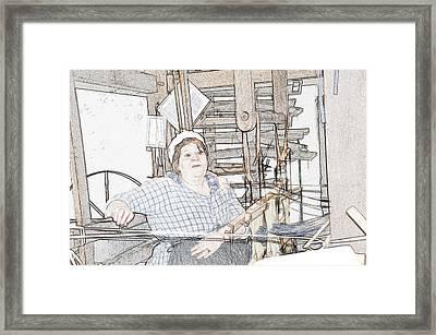 The Weaver Framed Print by Robert Nelson