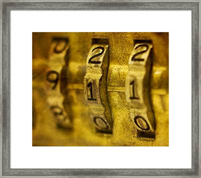 The Web Of Nine Eleven  Framed Print by Steven Richardson