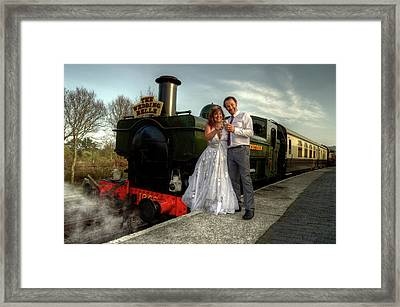 The Wedding Belle Framed Print by Rob Hawkins