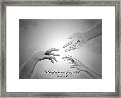 The Wedding Gift Framed Print