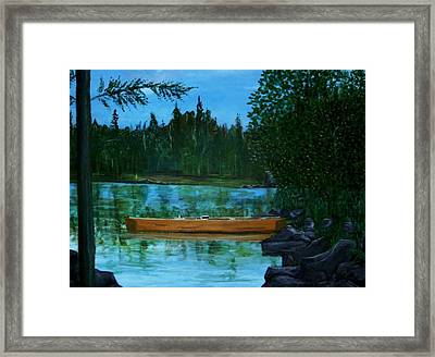 The Wedding Gift Framed Print by Richard  Hubal
