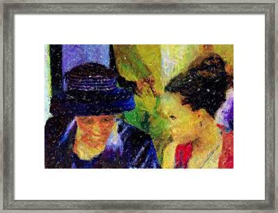 The Wedding Framed Print by LeeAnn Alexander