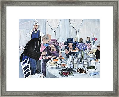 The Wedding Framed Print