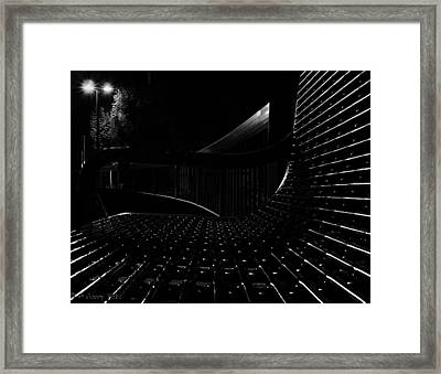 The Wee Small Hours Framed Print