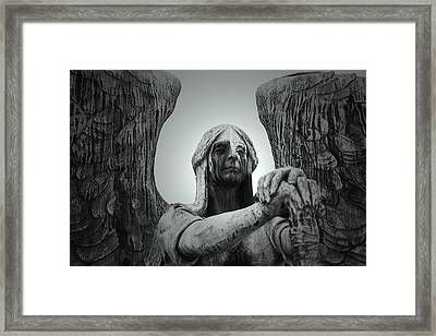 The Weeping Angel Framed Print by Brian M Lumley