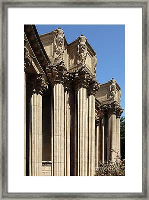 The Weeping Maidens Of The San Francisco Palace Of Fine Arts 5d18127 Framed Print