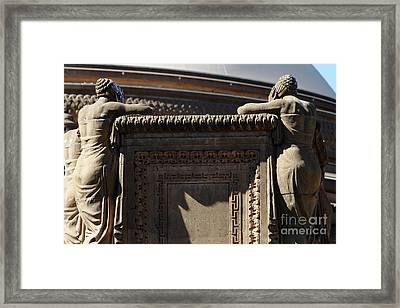 The Weeping Maidens Of The San Francisco Palace Of Fine Arts 7d18389 Framed Print