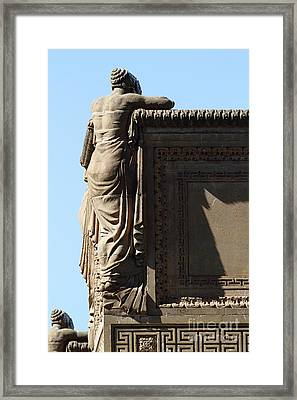 The Weeping Maidens Of The San Francisco Palace Of Fine Arts 7d18390 Framed Print