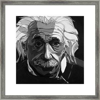 The Weight Of Genius Framed Print