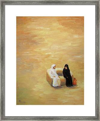 The Well Framed Print by Mike Moyers