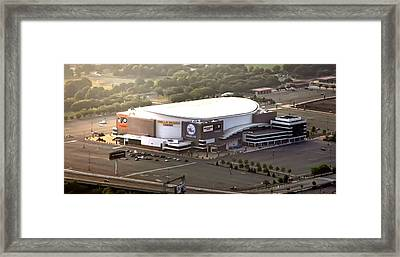 The Wells Fargo Center Framed Print by Bill Cannon