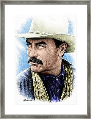 The Western Collection Monty Walsh Framed Print by Andrew Read