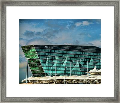 The Westin At Denver Internation Airport Framed Print