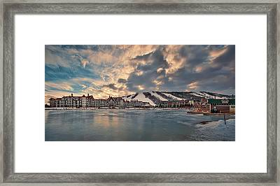The Westin Hotel Framed Print