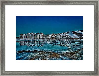 The Westin On Ice Framed Print
