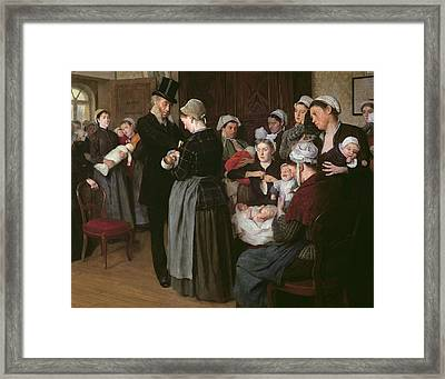 The Wetnurse Agency Framed Print by Jose Frappa