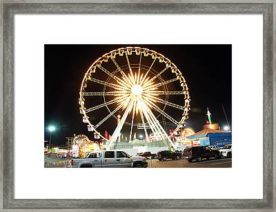 The Wheel Framed Print by Kenneth Hess