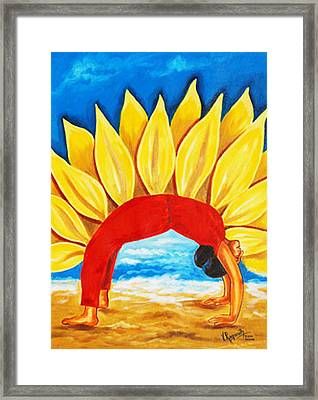 The Wheel Of Life Framed Print by Ragunath Venkatraman