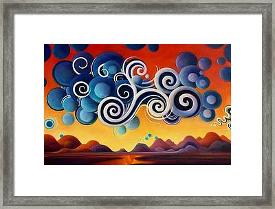 The Wheels Of Redemption Framed Print