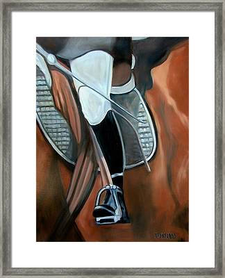 The Whip Framed Print by Donna Thomas