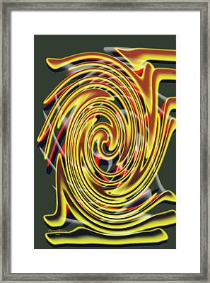 The Whirl Of Life, W5.2c Framed Print
