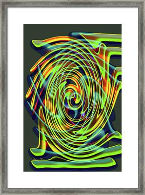 The Whirl Of Life, W5.2d Framed Print