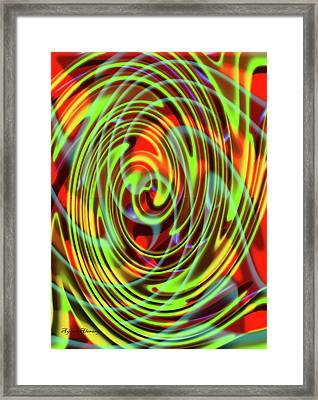The Whirl Of Life, W5.2e Framed Print