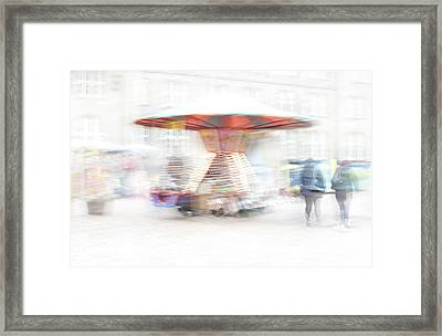 The Whirligig Framed Print