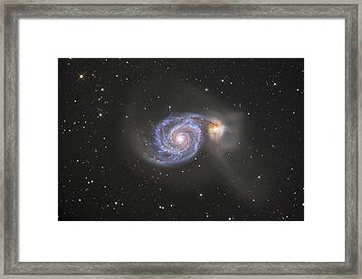 The Whirlpool Galaxy Framed Print by Robert Gendler