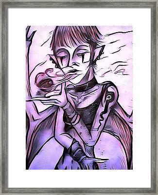The Whisper Of Pain Framed Print by Joshua Massenburg