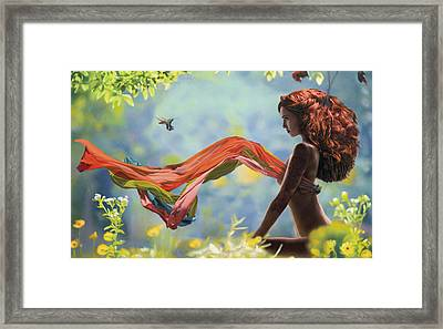 The Whisper Framed Print