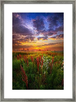 The Whispered Voice Within Framed Print
