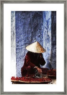 The Whistler Framed Print