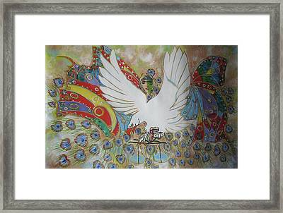 The White Eagle Framed Print