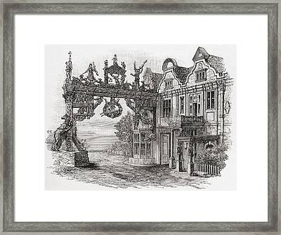 The White Hart Inn, Scole, Norfolk Framed Print by Vintage Design Pics