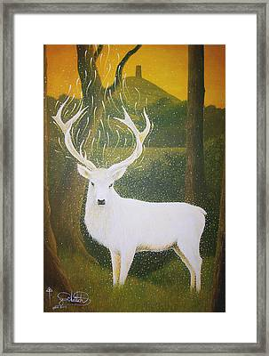The White Hart Framed Print by Yuri Leitch