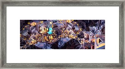 The White Labyrinth Framed Print by Adrian Borda