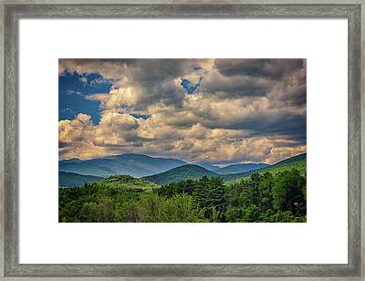The White Mountains Framed Print
