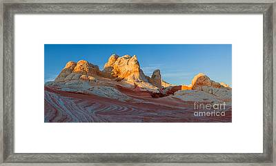 The White Pocket, Part Of The Vermillion Cliffs National Monumen Framed Print by Henk Meijer Photography