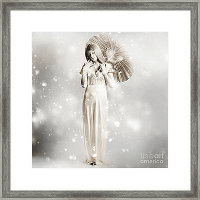 The White Vampire  Framed Print by Jorgo Photography - Wall Art Gallery