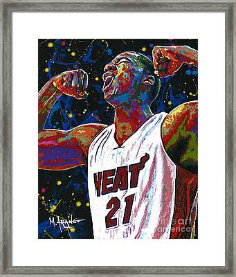 The Whiteside Flex Framed Print by Maria Arango