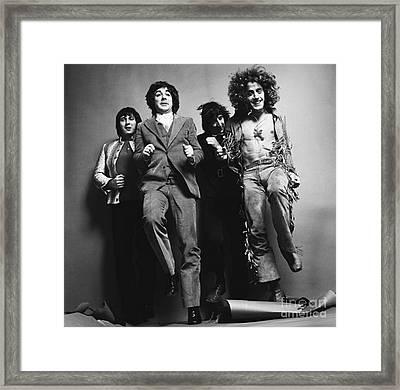 The Who Framed Print by Elizabeth Coats