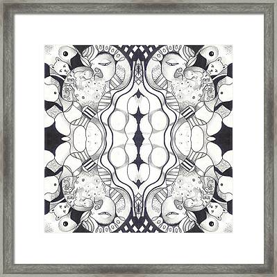 The Whole Story Part 2 Framed Print by Helena Tiainen