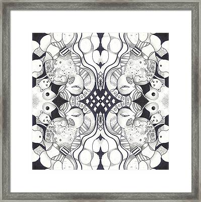 The Whole Story Part 3 Framed Print by Helena Tiainen